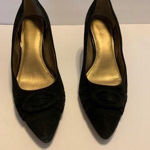 Women's suede high heels